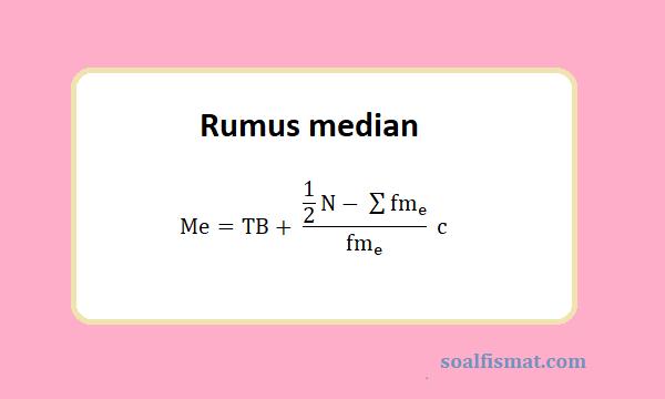 Rumus median
