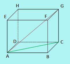 Contoh soal jarak antar titik pada kubus