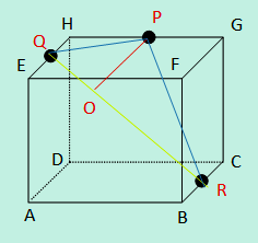 Contoh soal jarak titik ke garis pada kubus