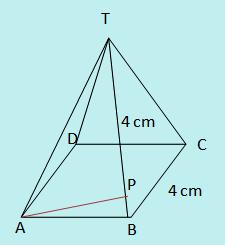 Contoh soal jarak titik ke garis pada limas