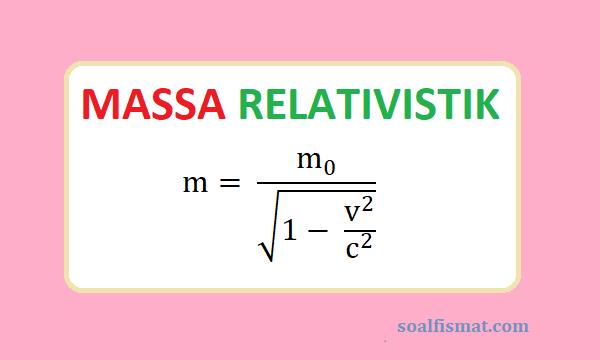 Massa relativistik