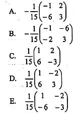 Pilihan jawaban soal UNKP matematika IPS 2019