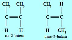Contoh isomer geometri