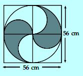 Contoh soal luas lingkaran nomor 7
