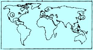 Soal UN tentang negara maju