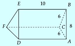 Contoh soal luas permukaan prisma